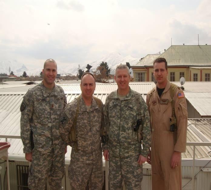 Jay Senterfitt Improves Afghanistan Supply Lines