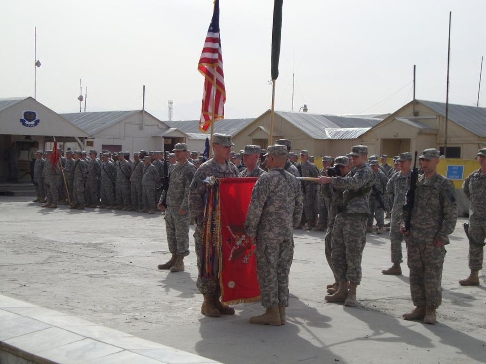 Oldest FA Battalion Takes Charge at Camp Phoenix