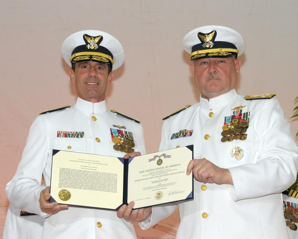 Vice Commandant Change of Watch