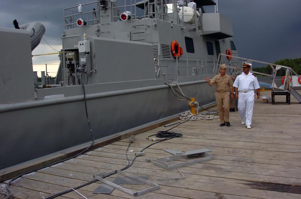 Iraqi Swift Boat Training