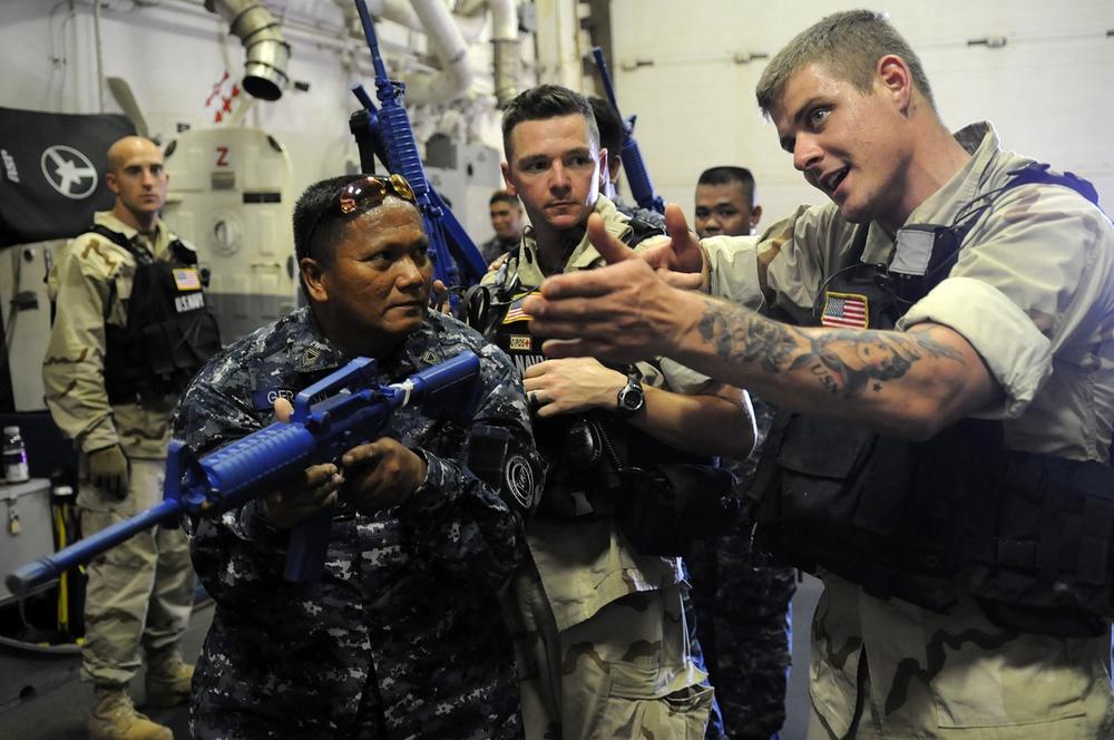 Philippine Coast Guard and U.S. Navy make Coastal Areas Safer