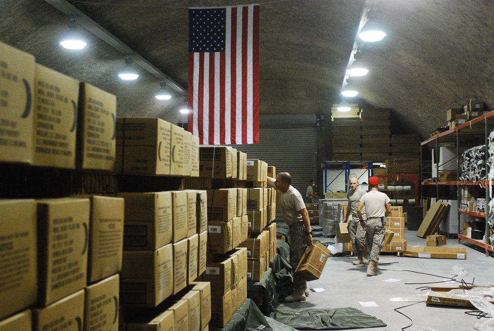 Move 'em out: Keeping the lines open in Iraq, Afghanistan