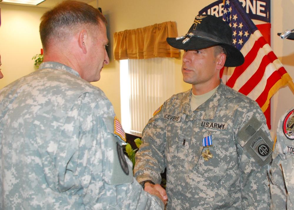 Pegasus Pilots Receive Distinguished Flying Cross