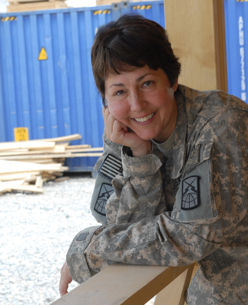 550th Signal Company warrior discovers inner strength