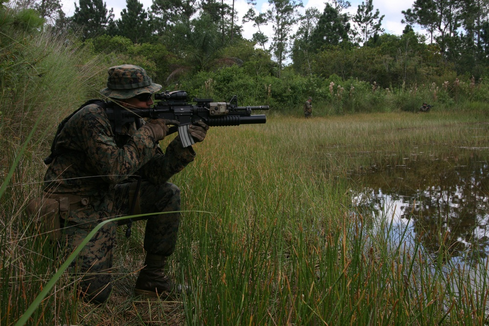 Marines sweat it out with Guatemalan Kaibiles