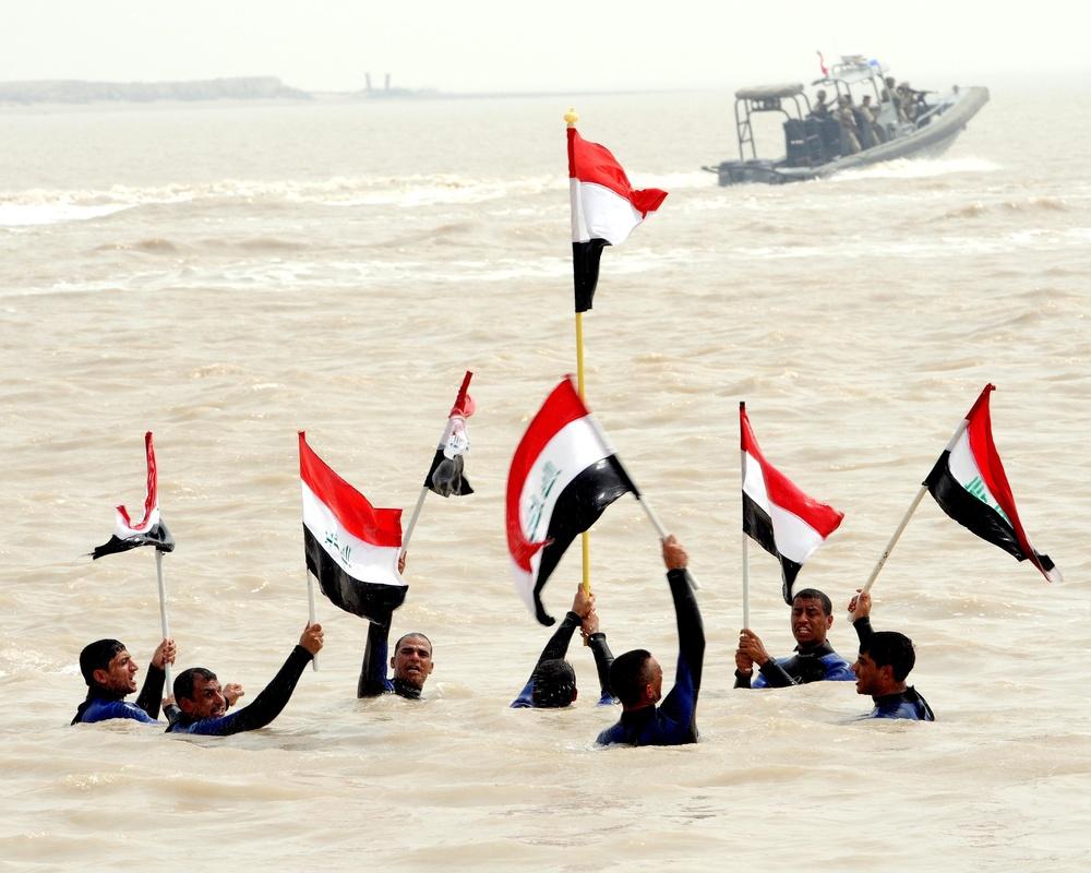 Iraqi Navy celebrates, upgrades