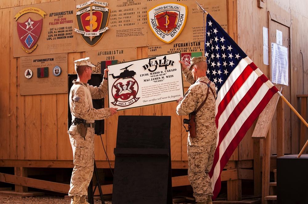 Fallen Pilots Honored During Plaque Dedication Ceremony
