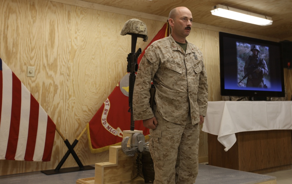 EOD Marine remembered for heart, selflessness and courage