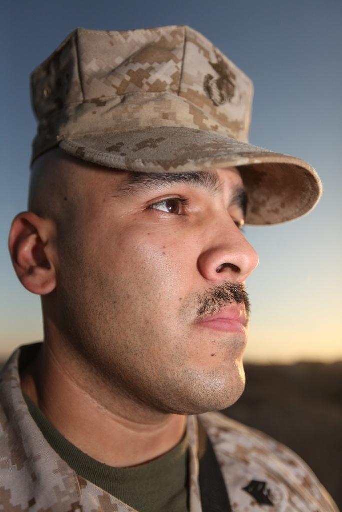 Marines grow 'Afghanistache' for men's health awareness