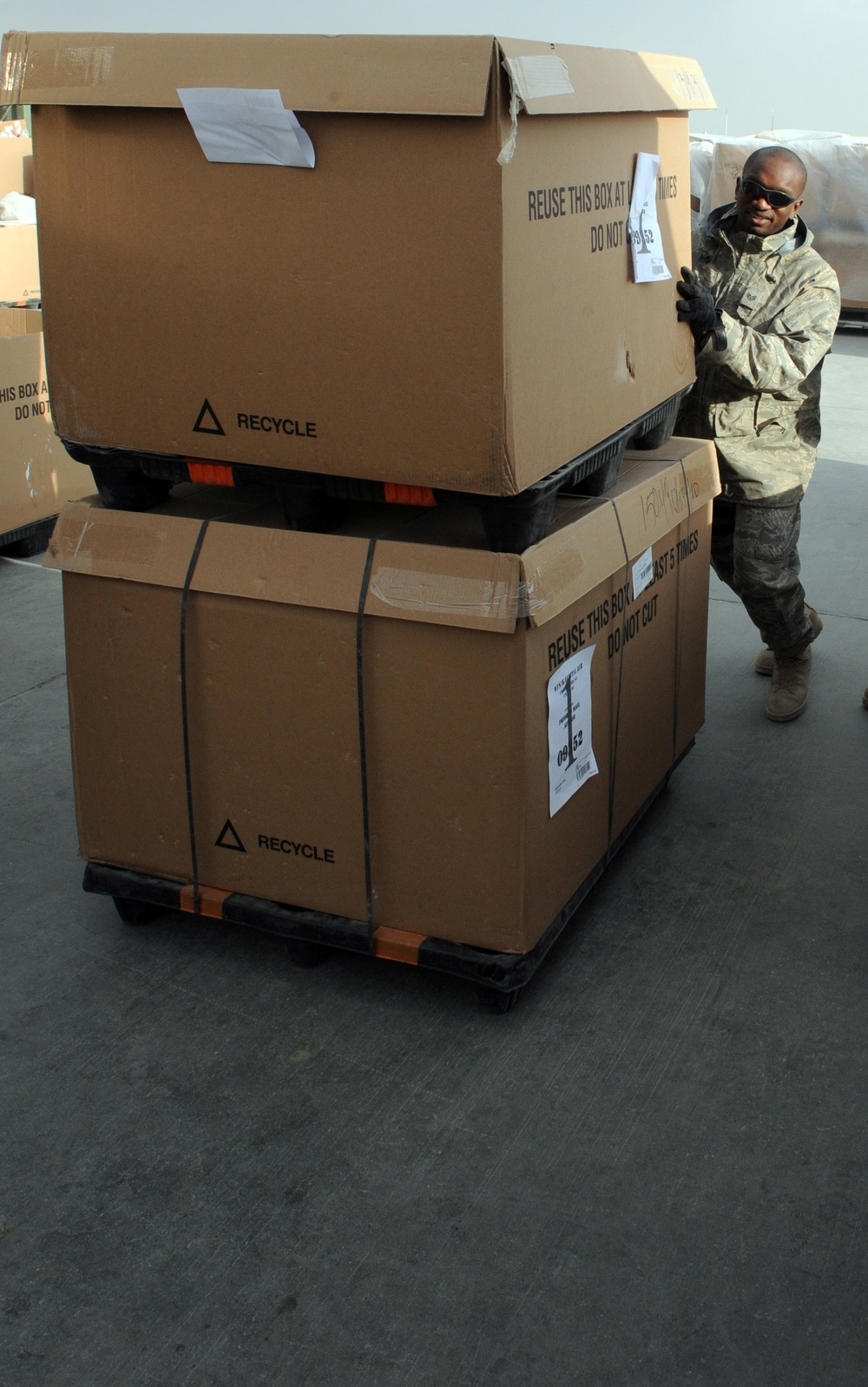 Mobility Airman profile: Scott NCO supports mail operations for Afghanistan base