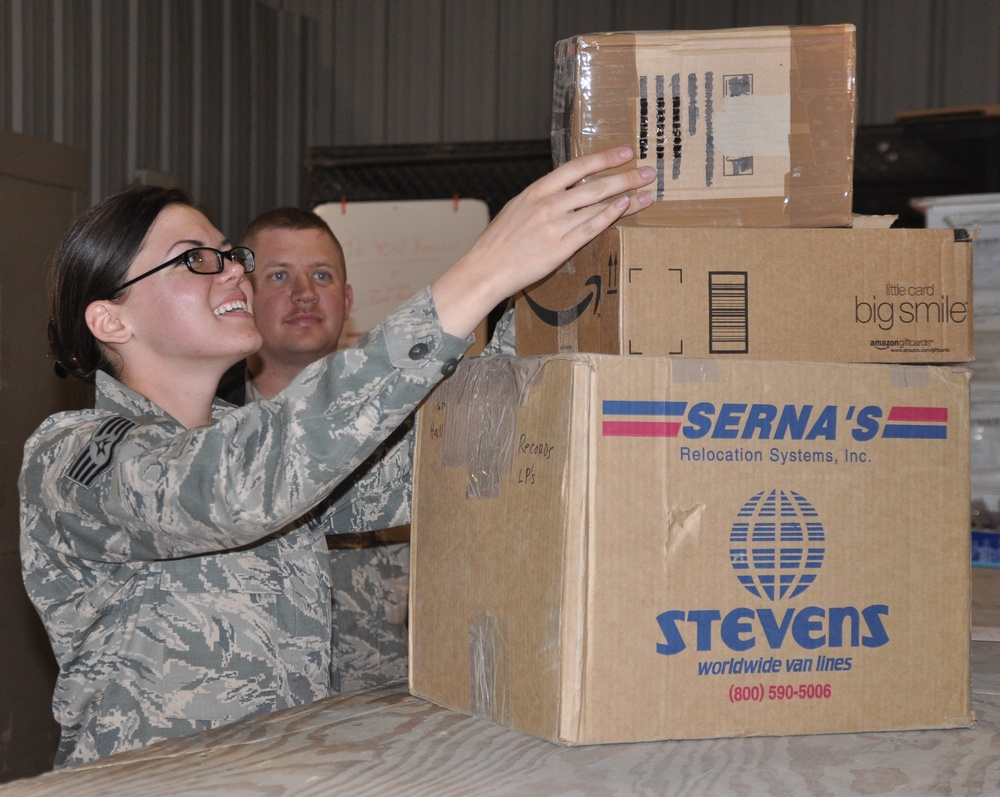 Record mail delivery in Afghanistan