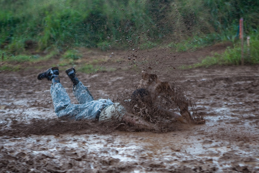 Getting dirty at the Romp