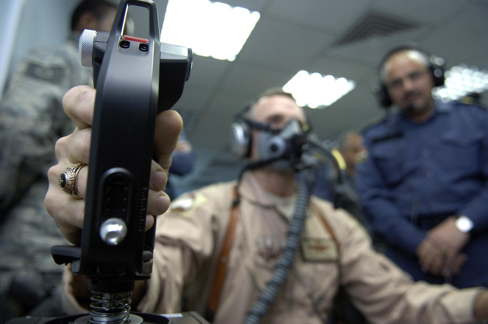 Revolutionary training device installed for IqAF