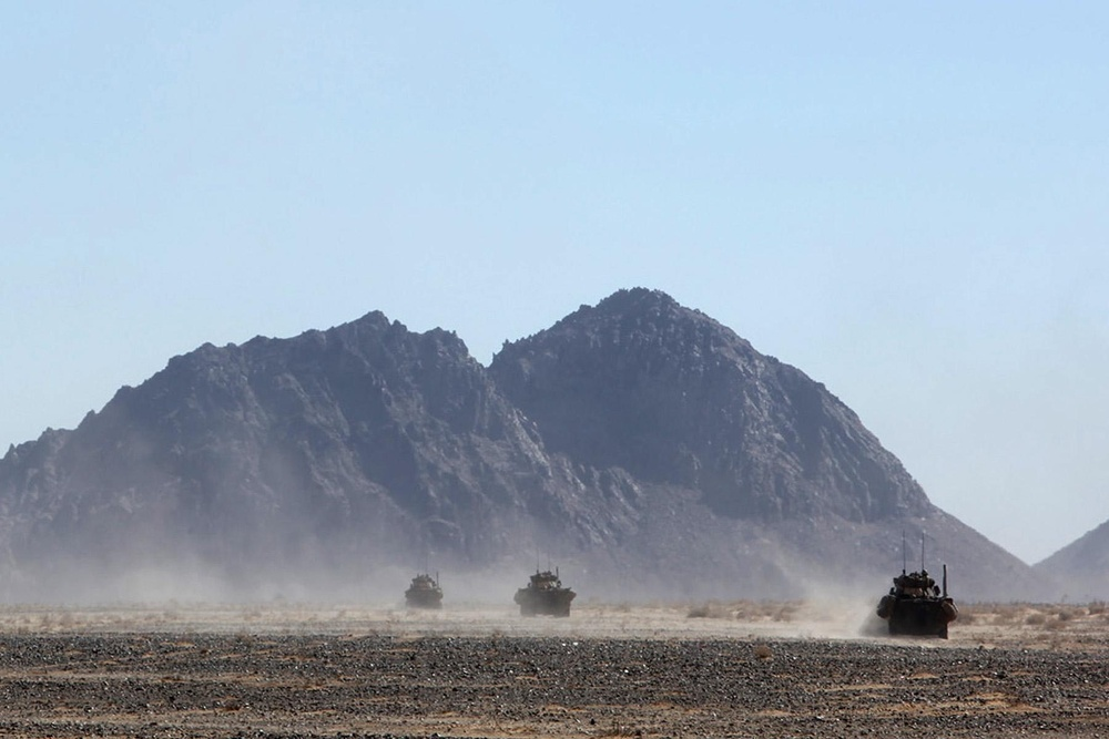 3rd LAR Bn. interdictions aim to squeeze insurgent supply lines