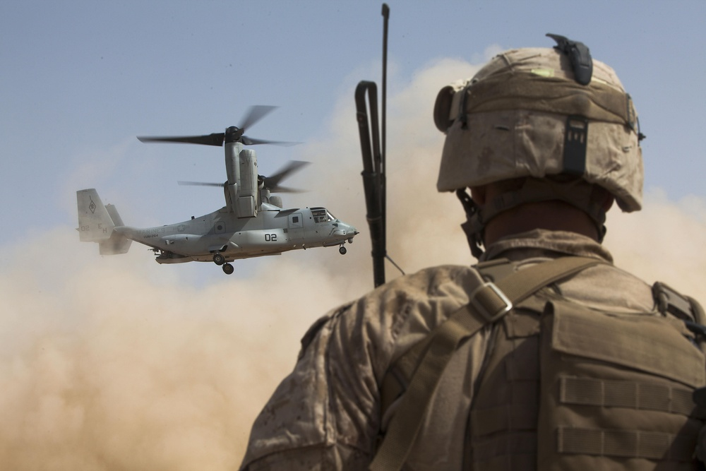 Operation Watchtower: Fox Company searches for insurgents, finds peace