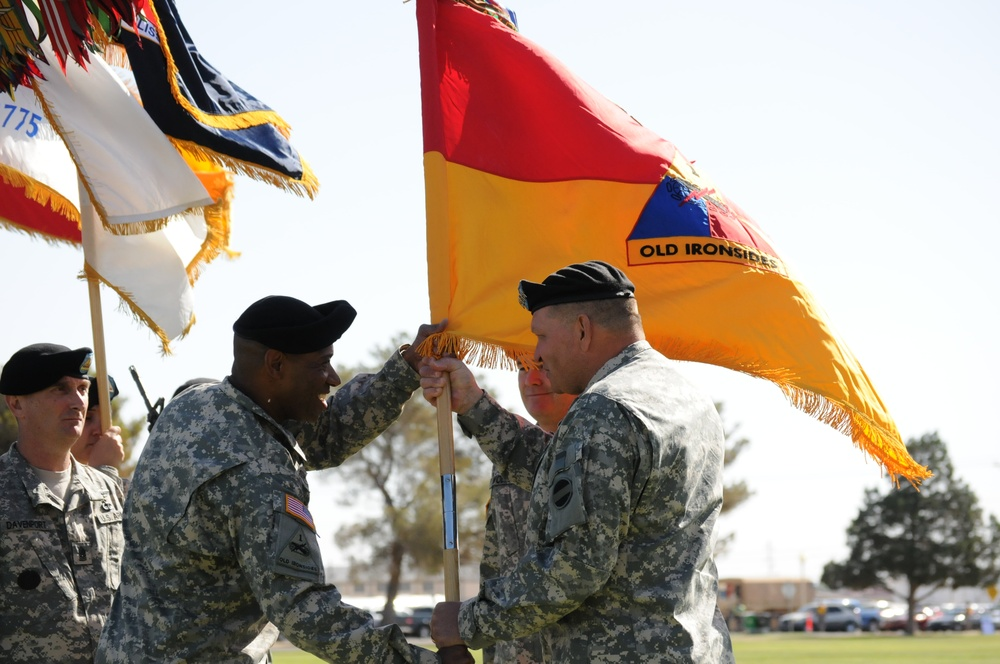 Old Ironsides starts new chapter at Fort Bliss
