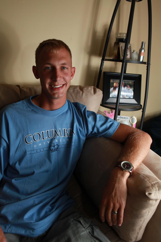 Fourth generation Marine preps for Ivy League education