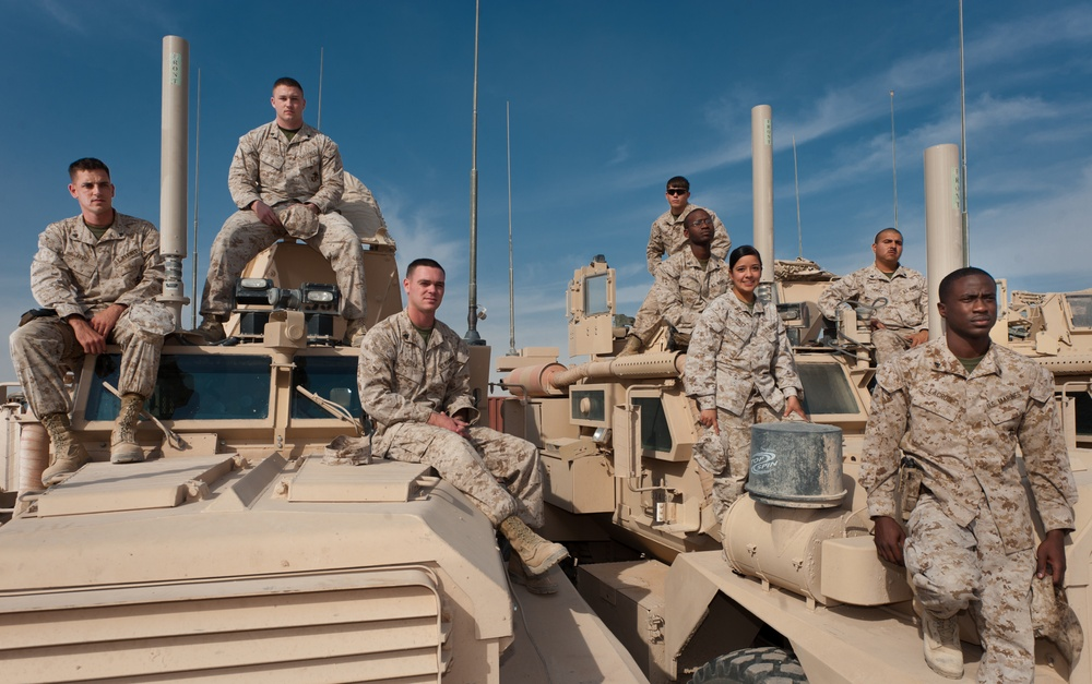 Watch caps and MRAPs: Supply provides all for Task Force Belleau Wood