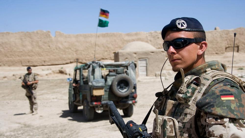 German troops conduct operations in Afghanistan
