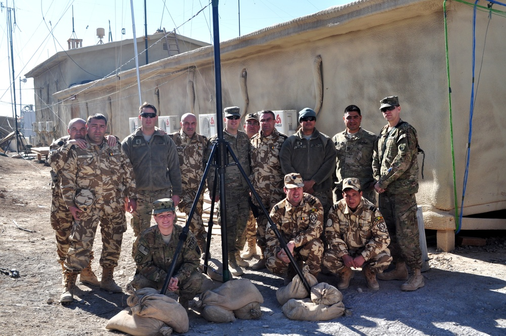 Video killed the radio star: Virginia National guardsman finds new use for old radio technology in Afghanistan