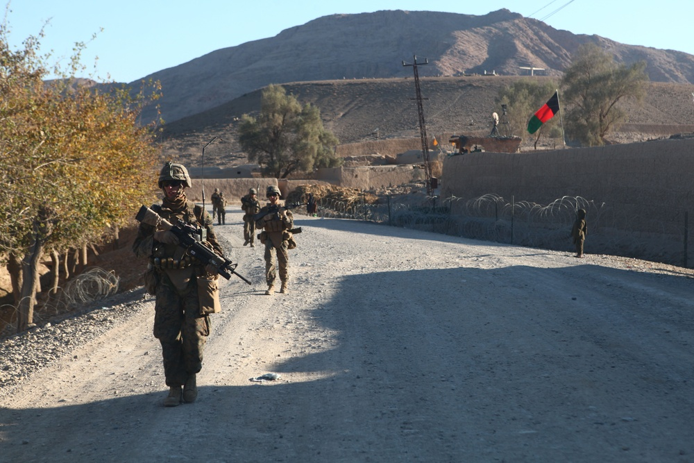 The road less travelled; Marines push COIN along Route 611