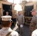 Marine generals tour Camp Dwyer, visit Marines and sailors during Christmas