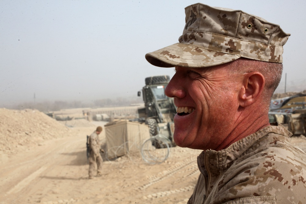 Long live the King: Marine returns to Corps after 21 years, shares wisdom with juniors