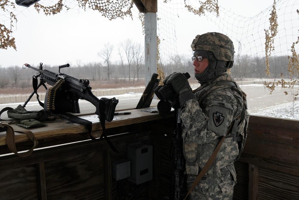 Task Force raptor conducts base defense