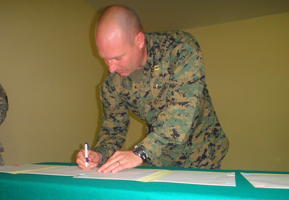 African Lion 12 ready to roar: Marine Forces Africa conducts final planning conference