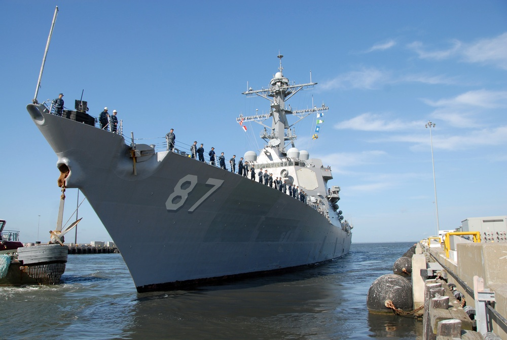 USS Mason upgraded with new chemical agent detection capability as Navy begins massive Fleet-wide initiative