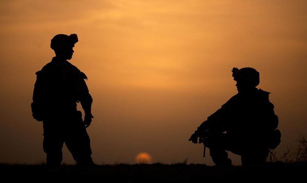 Operation Shahem Tofan: Afghan Border Police, Marines extend reach toward Helmand border
