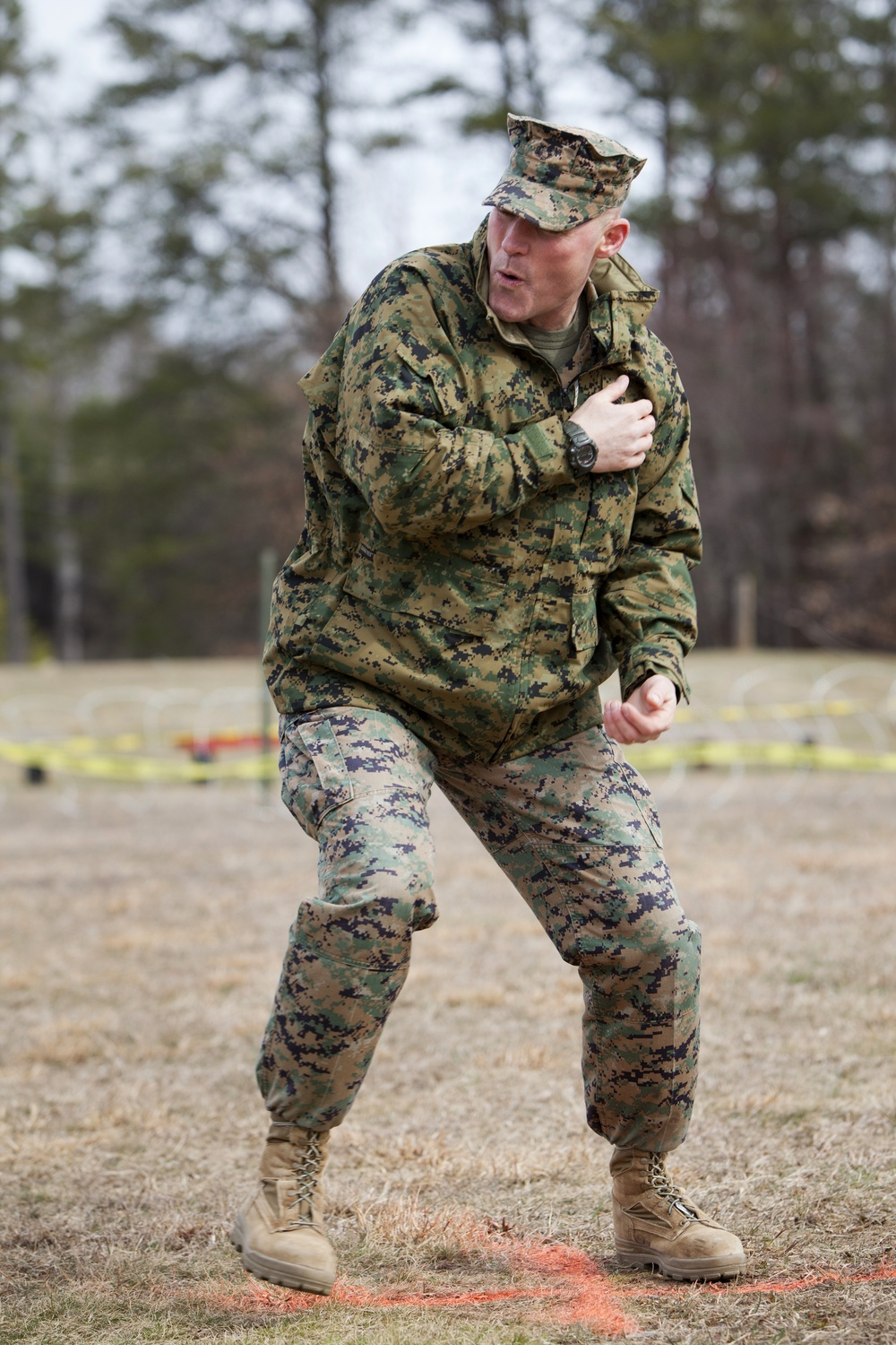 New Marine Corps non-lethal weapon heats things up