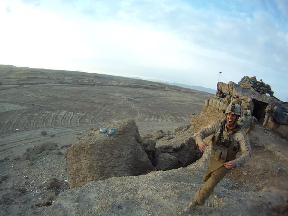 Marine 'warrior' remembered at Kajaki