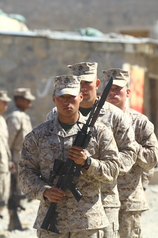 Marine 'warrior' remembered at Kajaki memorial