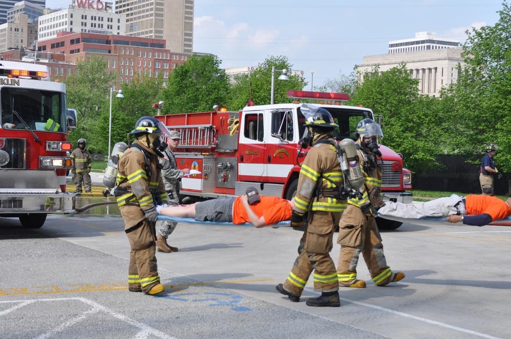 Nashville district joins Homeland Security in 'Titans' emergency preparedness exercise