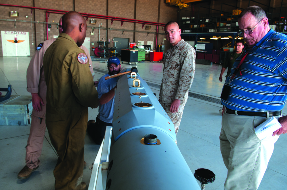 Yuma hosts first flight for new electronic warfare system