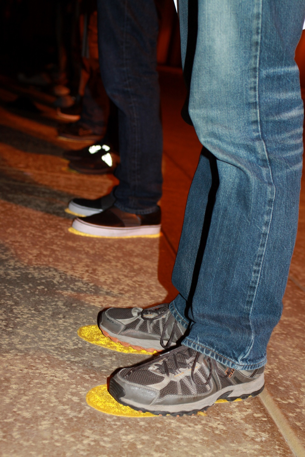Yellow Footprints: Initial step into recruit training