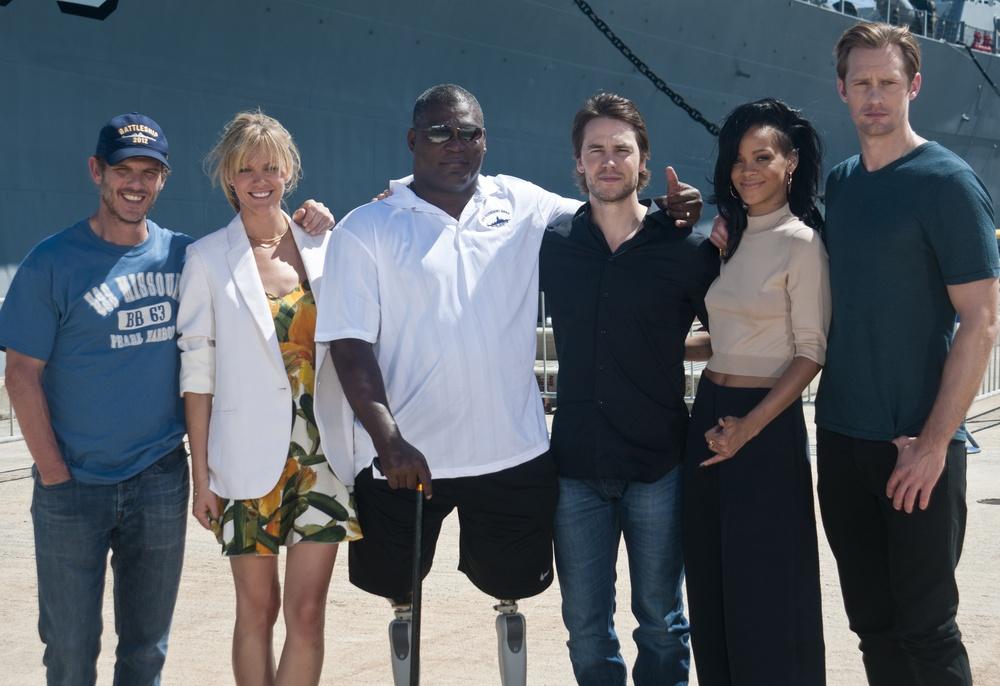 'Battleship' cast and crew promotes film
