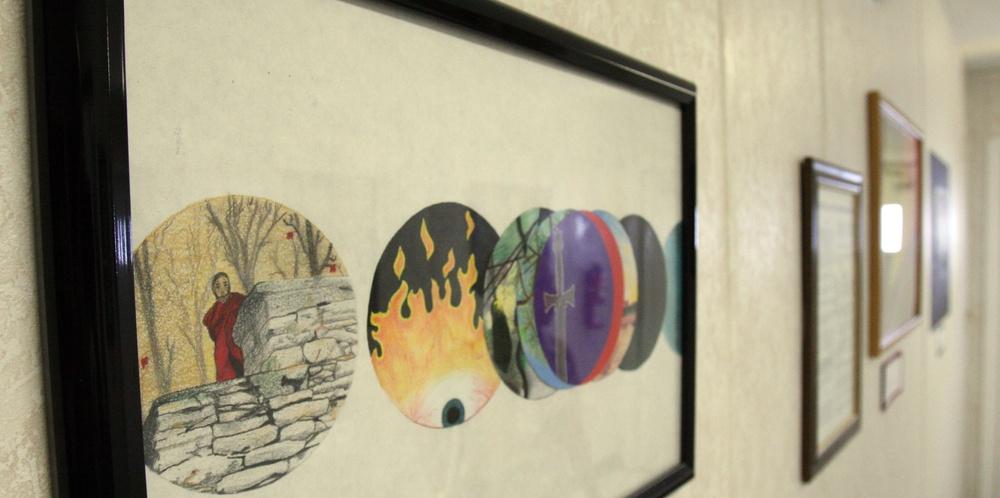 Art of War: Service members use art to relieve PTSD symptoms