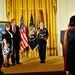 White House Medal of Honor ceremony for Specialist 4 Leslie H. Sabo Jr.