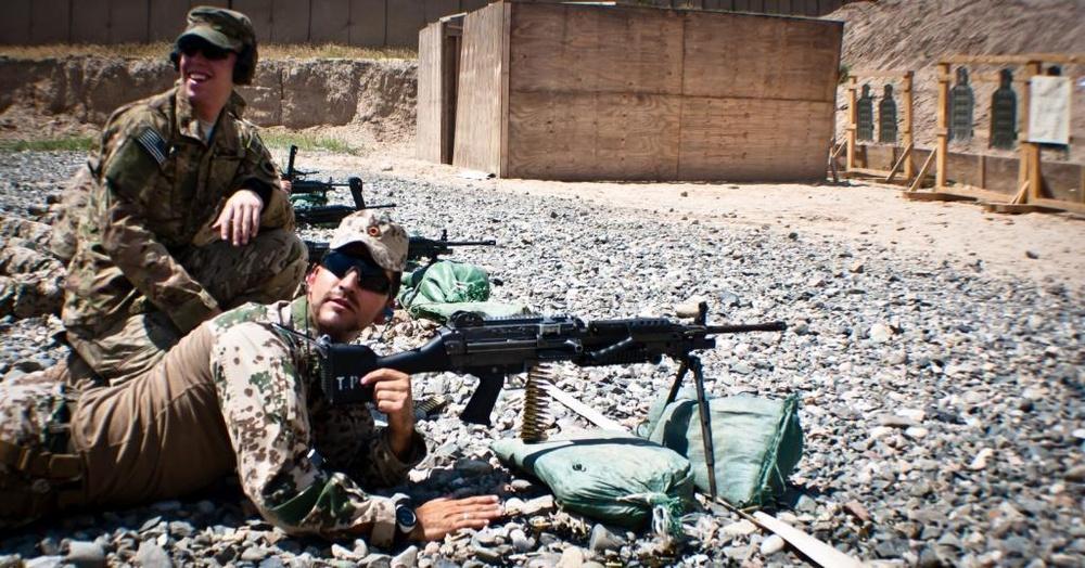 Task Force Viking hosts German shooters