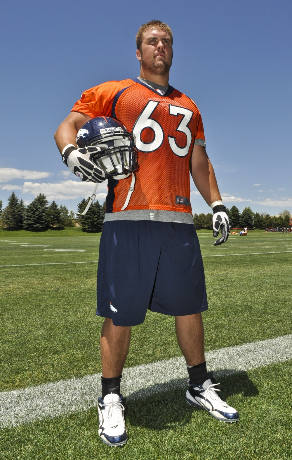 Air Force lieutenant finishes Broncos mini-camp, continues to follow dream