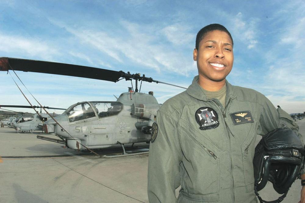 America's First Female African-American Combat Pilot