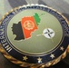 Soldiers get 'coined' by ISAF commander at Spin Boldak