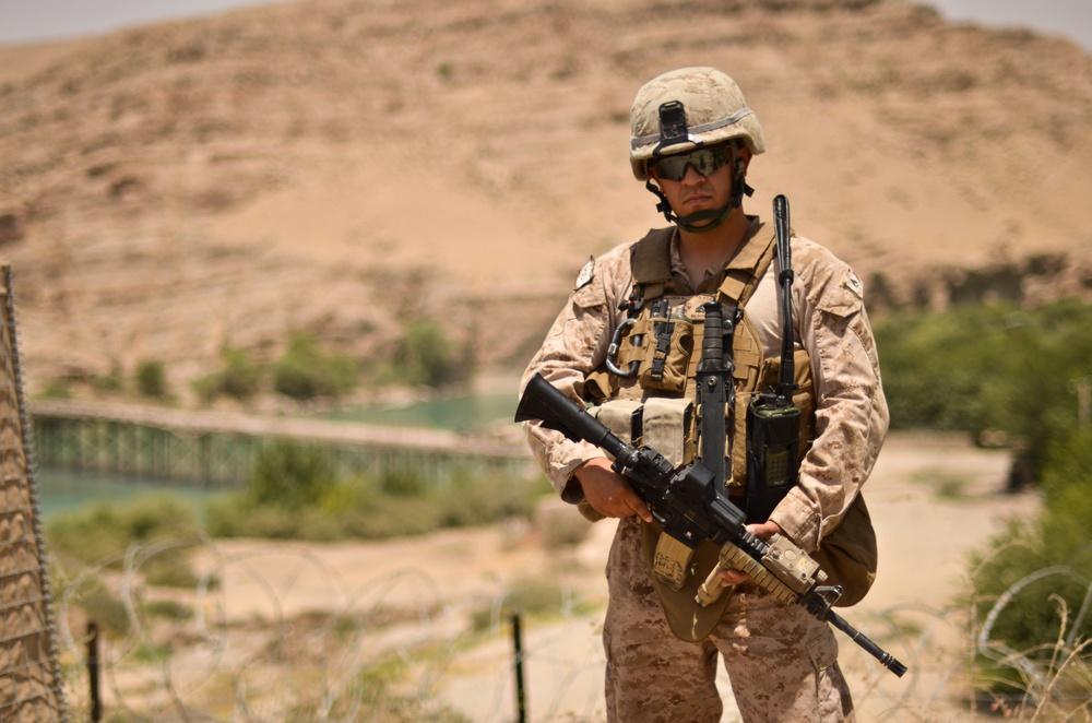 Radio Operator vital to Personal Security Detachment