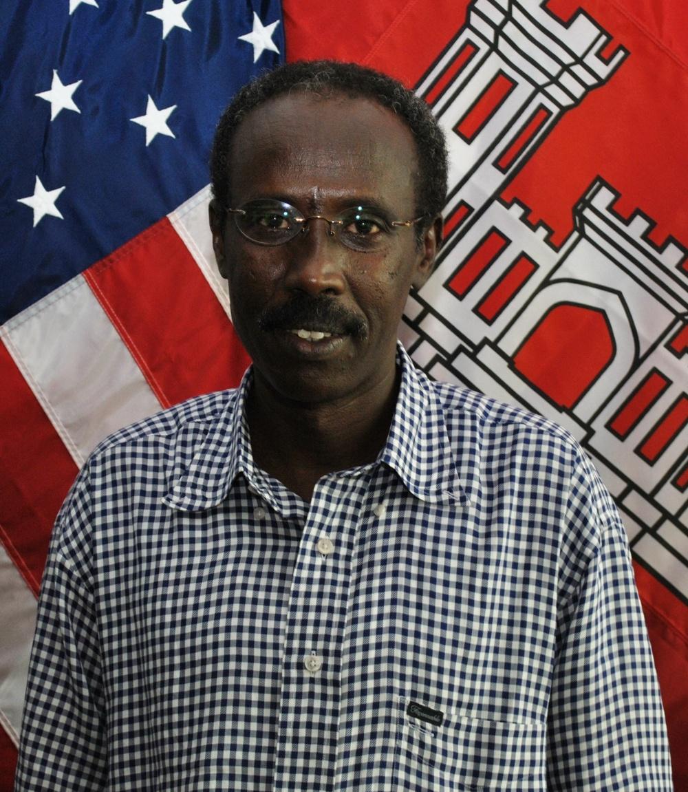 Spotlight on USACE Galveston District's Rashid Sheikh-ali
