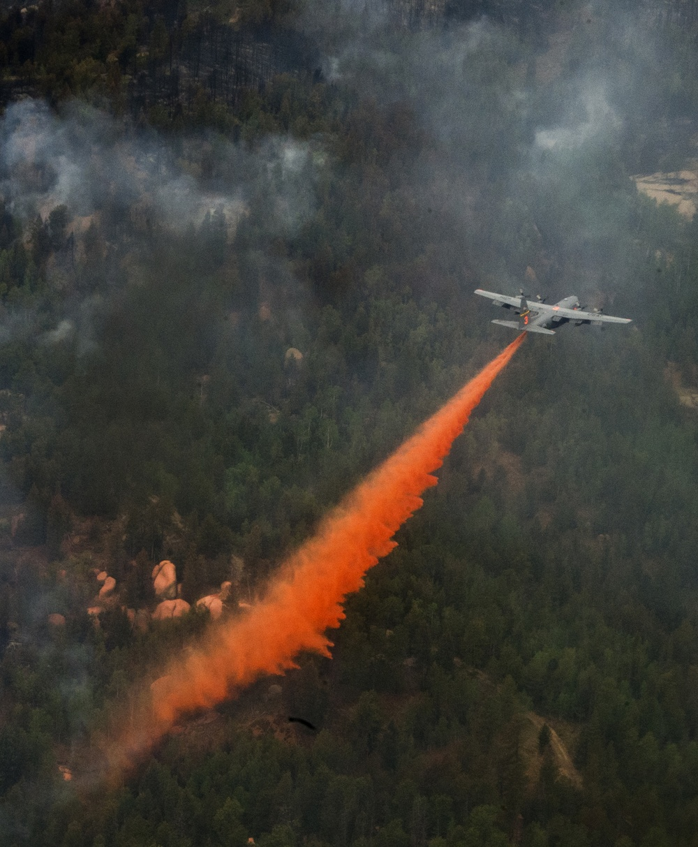 Air National Guard, Reserve MAFFS-equipped C-130s integral part of wildfire suppression