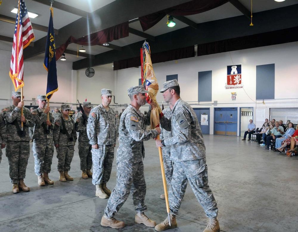 141 Brigade Support Battalion changes command