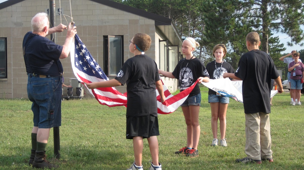 Volunteers make a difference at Youth Camp