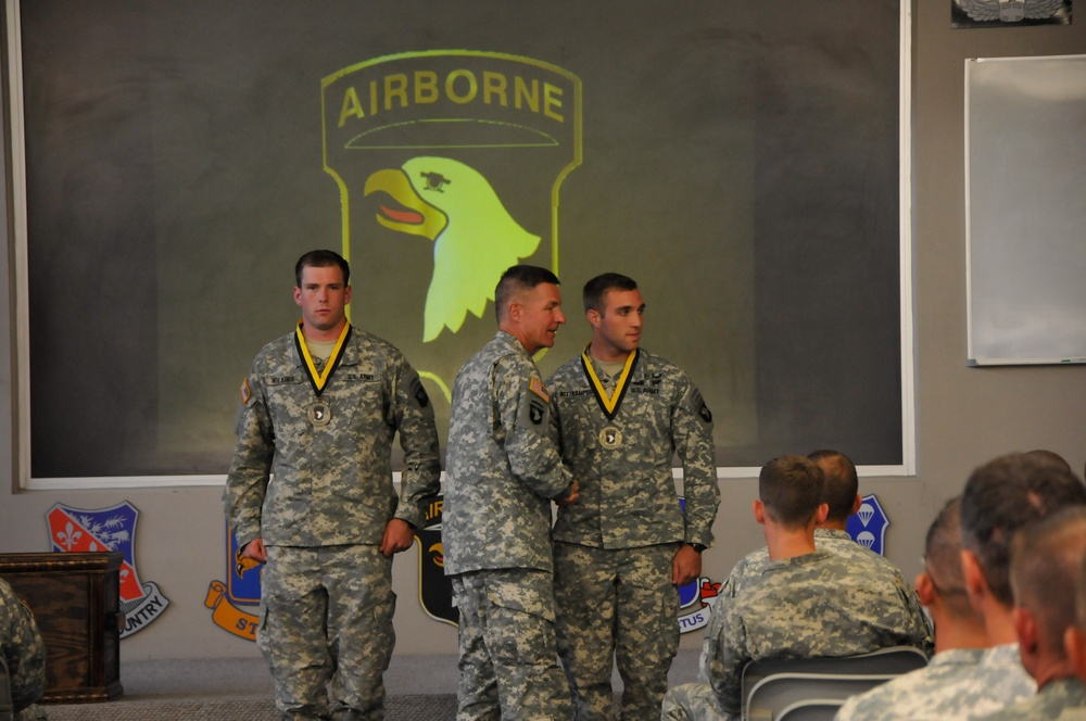 The Toughest Air Assault Soldiers